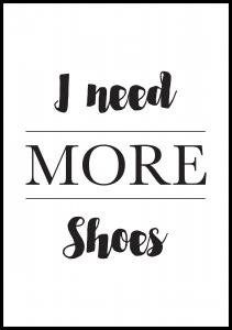 More Shoes Poster