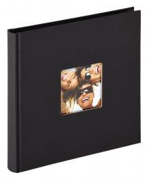 Fun Album Schwarz - 18x18 cm (30 schwarze Seiten / 15 Blatt)