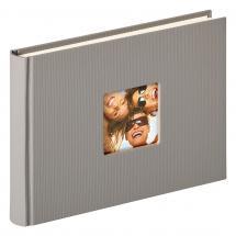 Fun Design Grau - 22x16 cm (40 weiße Seiten / 20 Blatt)