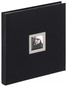 Black & White Album Schwarz - 30x30 cm (50 schwarze Seiten / 25 Blatt)