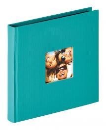 Fun Album Grün - 18x18 cm (30 schwarze Seiten / 15 Blatt)