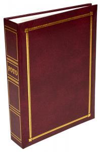 Classic Line Pocket Album Weinrot - 200 Bilder 10x15 cm