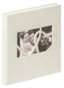 Sweet Heart Gästebuch - 23x25 cm (144 weiße Seiten / 72 Blatt)