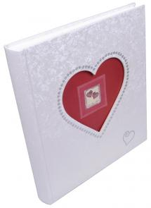 Forever Album - 29x32 cm (60 weiße Seiten / 30 Blatt)