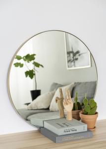 Spiegel Vendela Messing 80 cm Ø