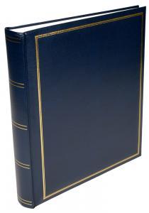 Exclusive Line Maxi Album Blau 30x33 cm (100 weiße Seiten / 50 Blatt)