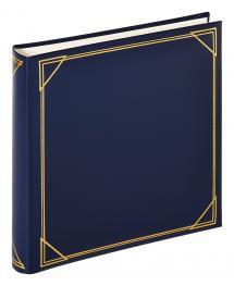 Kvadrat Blau - 30x30 cm (100 weiße Seiten / 50 Blatt)