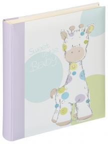 Kima Babyalbum - 28x30,5 cm (50 weiße Seiten / 25 Blatt)
