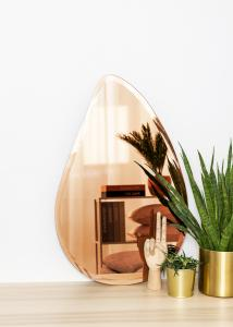 KAILA Spiegel Drop Rose Gold 45x70 cm