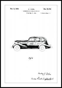 Patentzeichnung - La Salle III Poster