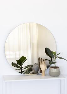 KAILA Runder Spiegel Dark Bronze 80 cm