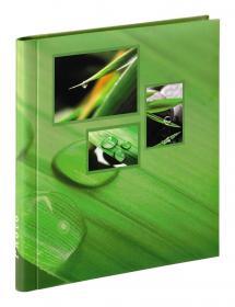 Singo Album selbstklebend Grün (20 weiße Seiten / 10 Blatt)