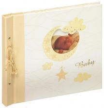 Babyalbum Bambini Maxi Creme - 28x25 cm (60 weiße Seiten / 30 Blatt)