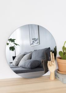 KAILA Runder Spiegel Smoked Grey 50 cm Ø