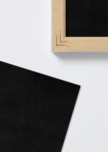 Säurefreies Einlageblatt Schwarz - 30x70 cm