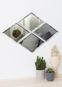 Spiegel House Doctor Diamond Grau 16x22 cm
