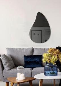 Spiegel Slim Drop Warm Grey 80x55 cm