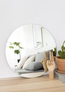 KAILA Runder Spiegel Deluxe 50 cm Ø
