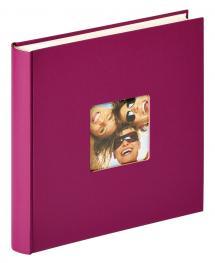 Fun Design Lila - 30x30 cm (100 weiße Seiten / 50 Blatt)