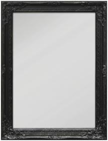Spiegel Antique Schwarz 50x70 cm