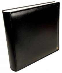Henzo Gran Cara Premium Fotoalbum - Schwarz - 31x33 cm (100 weiße Seiten)