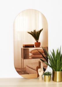 KAILA Spiegel Oval Rose Gold 50x100 cm