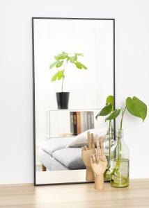 Spiegel Narrow Schwarz 40x80 cm