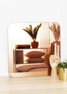 KAILA Spiegel Square Rose Gold 40x40 cm