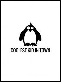 Pingvin Cool Poster