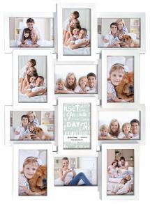 Multiple frame white Collage-Rahmen - 12 Bilder