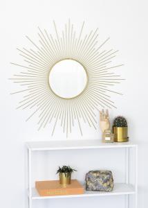 KAILA Spiegel Star - Gold 90x90 cm