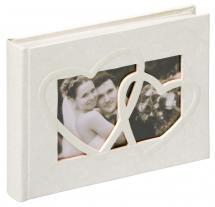 Sweet Heart Fotoalbum - 22x16 cm (40 weiße Seiten / 20 Blatt)