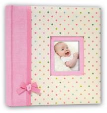 Kara Album Rosa - 24x24 cm (40 weiße Seiten / 20 Blatt)