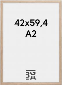 Rahmen Stilren Acrylglas Eiche 42x59,4 cm (A2)
