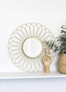 KAILA Spiegel Flower - Gold 50 cm Ø
