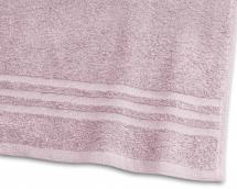 Handtuch Basic Frottee - Rosa 50x70 cm