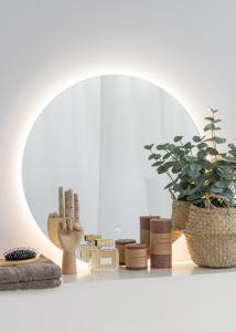 KAILA Speil LED 60 cm Ø