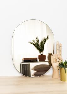 KAILA Spiegel Oval Dark Bronze 30x40 cm