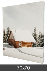 Leinwandbild 70x70 cm - 40 mm