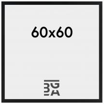 Rahmen Amanda Box Schwarz 60x60 cm