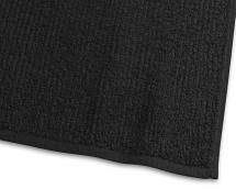 Handtuch Stripe Frottee - Schwarz 50x70 cm