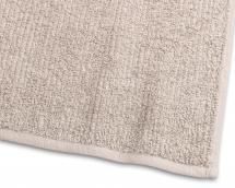 Gästehandtuch Stripe Frottee - Sand 30x50 cm