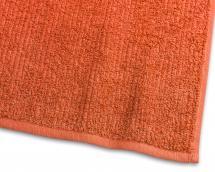 Gästehandtuch Stripe Frottee - Orange 30x50 cm