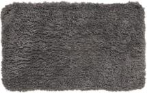 Badteppich Zero - Aschgrau 60x60 cm