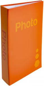 ZEP Fotoalbum Orange - 402 Bilder 11x15 cm