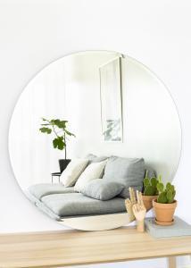 KAILA Runder Spiegel Deluxe 110 cm Ø