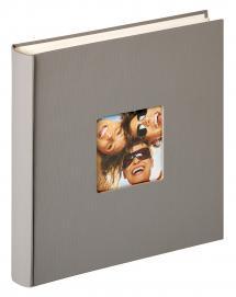 Fun Design Grau - 30x30 cm (100 weiße Seiten / 50 Blatt)