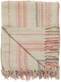 Plaid Stripes - Natur 130x160 cm