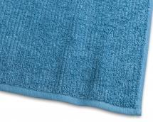 Handtuch Stripe Frottee - Türkis 50x70 cm
