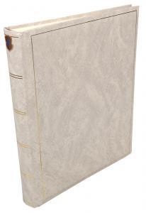 Henzo Basic Line Fotoalbum Weiß - 30x36 cm (80 weiße Seiten / 40 Blatt)